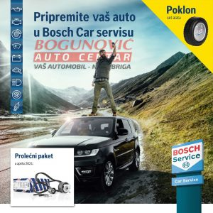 Akcija Veliki Servis - Bosch delovi i Poklon